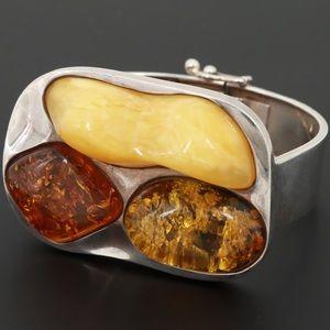 Jewelry - Copal Sterling Silver Bracelet/ CODE: WB-44